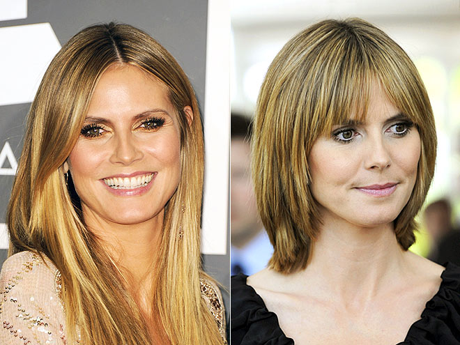 Heidi Klum Hair Styles: Where's The Rest Of Your Hair?