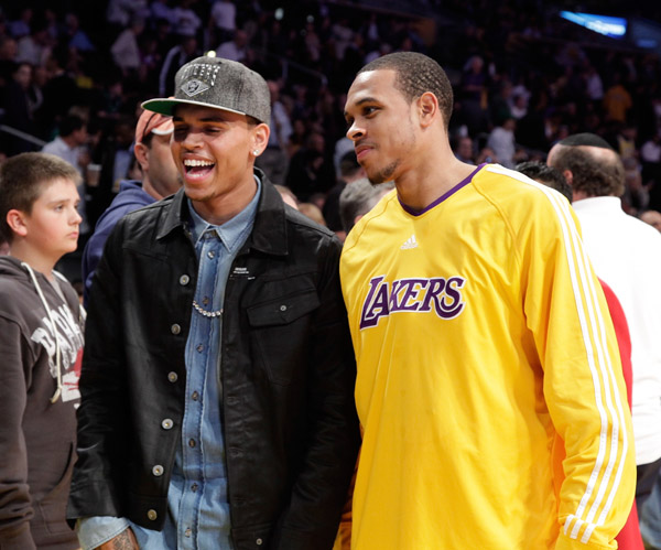 Shannon+brown+chris+brown+cousins