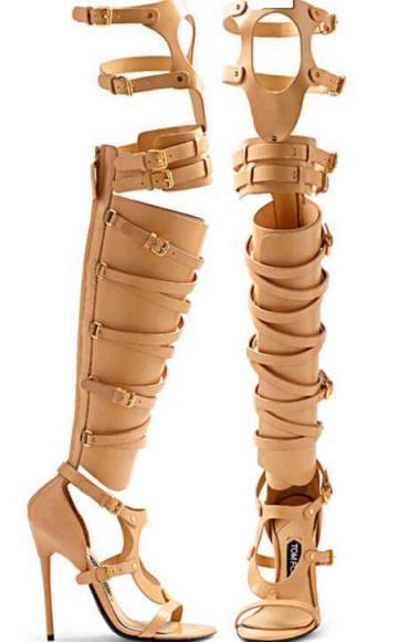 Tom-Ford-Beige-Gladiator-Boot-Sandals-Spring-2013-2